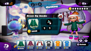 Colourful characters sell you stylish digs from the Inkopolis hub shops, and add to Splatoon's charm